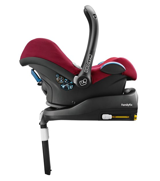 maxi cosi cabriofix and easyfix base tom thumb baby equipment hire. Black Bedroom Furniture Sets. Home Design Ideas